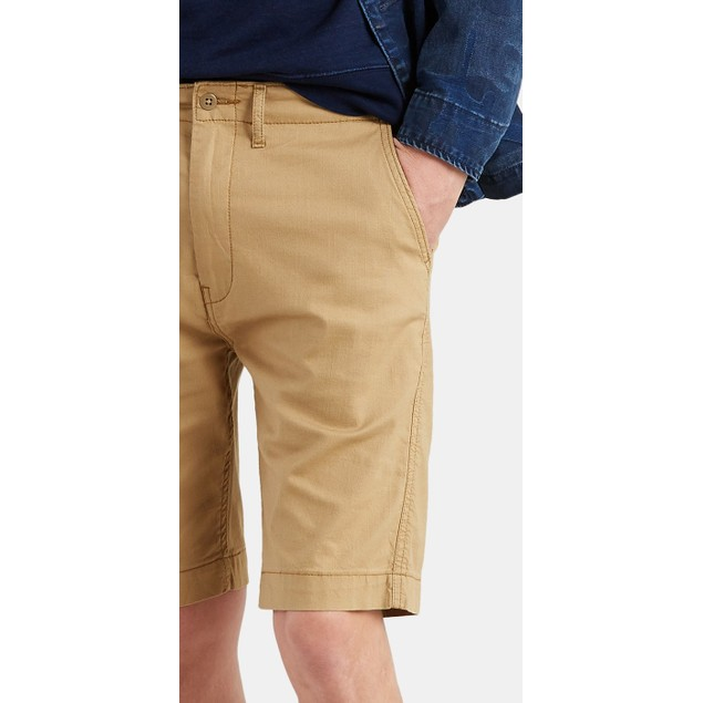 """Levi's Men's 502 Chino 9 1/2"""" Shorts Brown Size 30"""