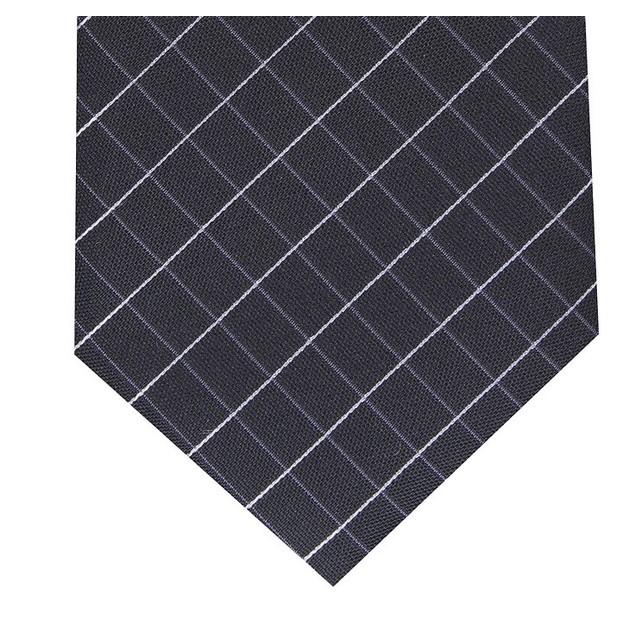 Alfani Men's Slim Grid Tie Purple Size Regular
