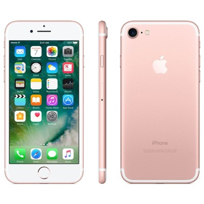 """Apple iPhone 7 128GB 4.7"""" AT&T Only,Rose Gold(Refurbished)"""