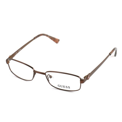 Guess Women  GU2524 049 Brown 49 18 135 Full Rim Rectangle