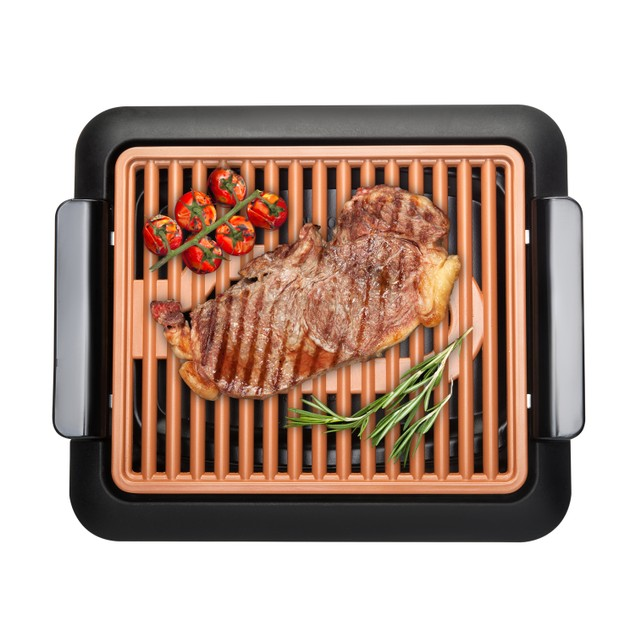 Gotham Steel Non-stick Copper Smokeless Indoor Electric Grill