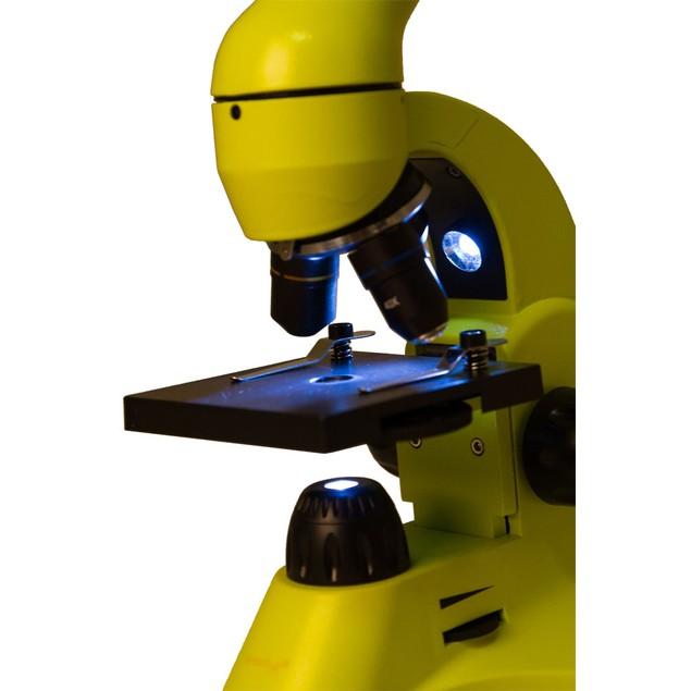 Levenhuk Rainbow 50L Microscope - Lime