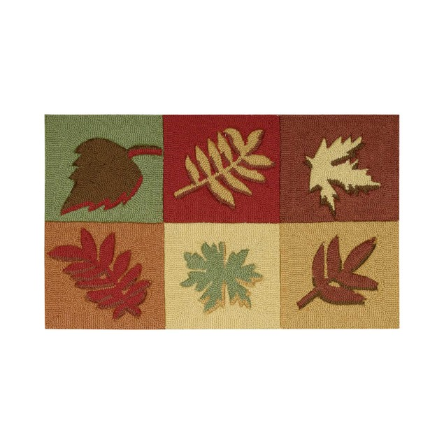 "Nourison Harvest 20"" x 32"" Accent Rug, Natural Look, Multi-Color"
