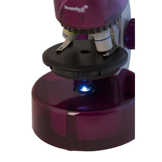 Levenhuk LabZZ M101 Microscope - Amethyst