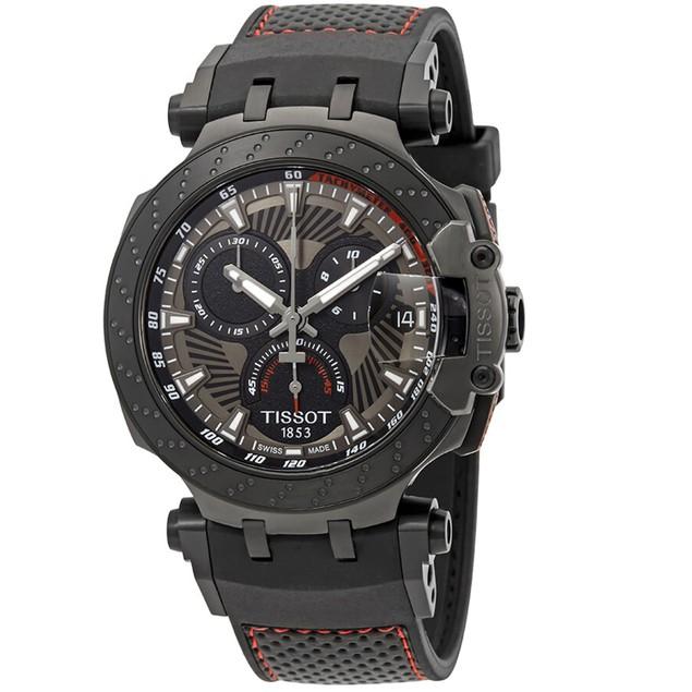 Tissot Men's Race MotoGP Grey Dial Watch - T1154173706104