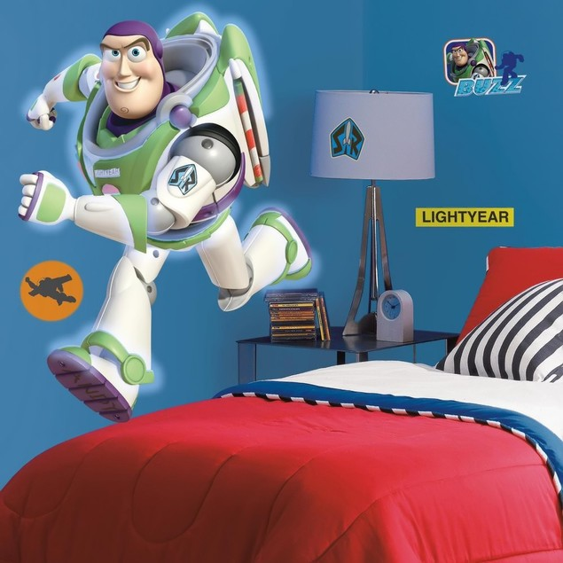 Roommates Wall Decorative Toy Story Buzz Giant Peel And Stick Wall Decal