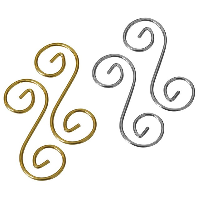Hook Jewelry Extenders For Bracelets & Necklaces, Silver/Gold