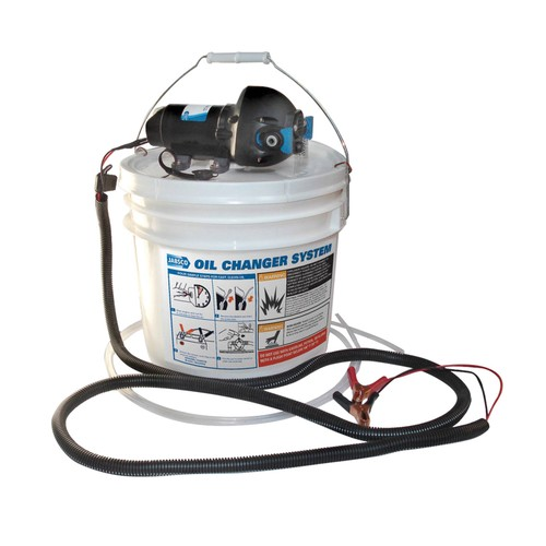 Jabsco DIY Oil Change System w/Pump and 3.5 Gallon Bucket