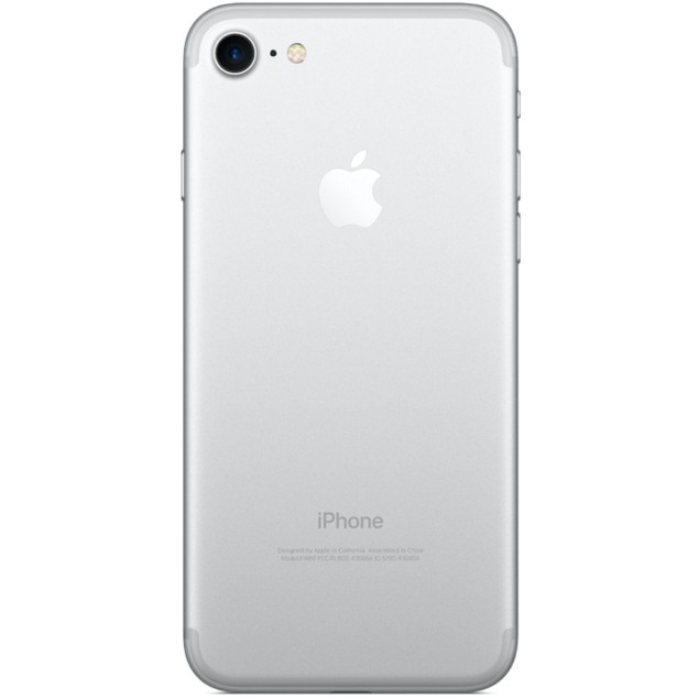Apple iPhone 7, C Spire, Silver, 128 GB, 4.7 in Screen