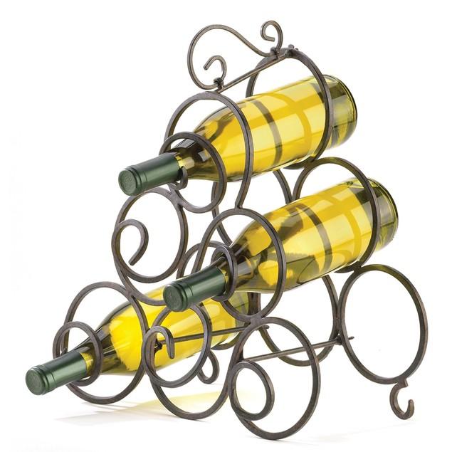 Koehler Space Saving Table Top Wine Rack