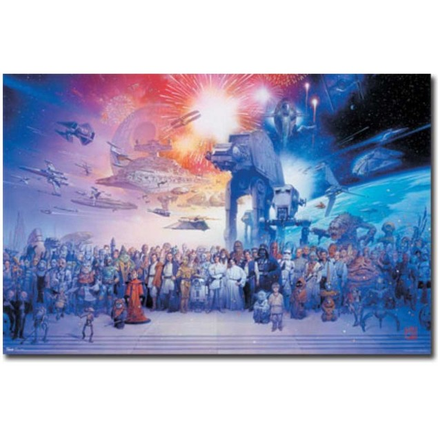 Star Wars Galaxy Poster