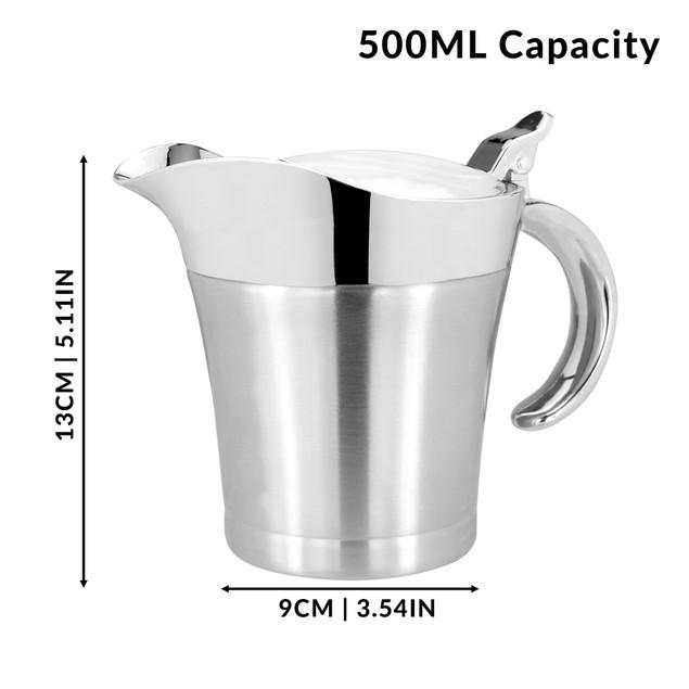 Stainless Steel Gravy Boat - 500ml | MandW