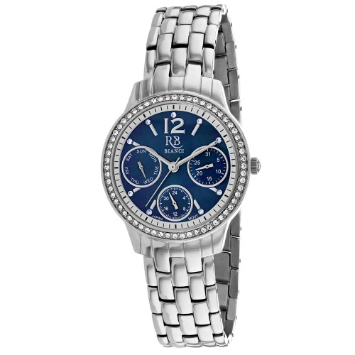 Roberto Bianci Women's Valentini Black mother of pearl Dial Watch - RB0841
