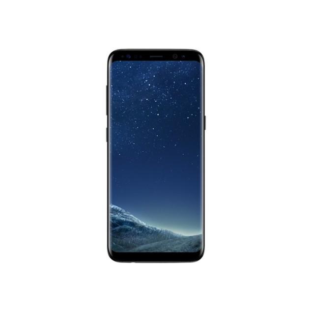 Samsung Galaxy S8, AT&T, Grade B+, Black, 64 GB, 5.8 in Screen