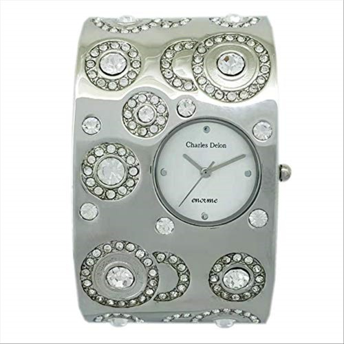Charles Delon Women's Watches 4863 LPSW Silver/Silver Stainless Steel Quartz