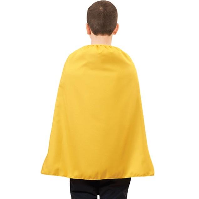"""Child Yellow Superhero Cape 28"""""""
