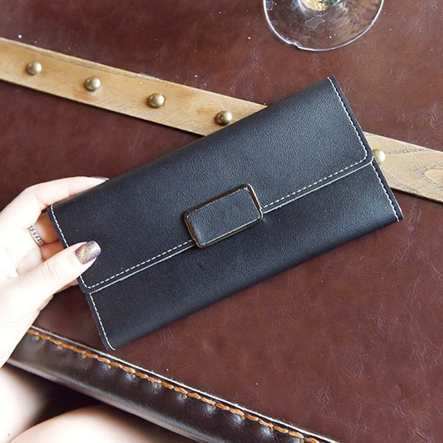 Women's Leather Handbag Card Bag Tote Lady Purse Wallet