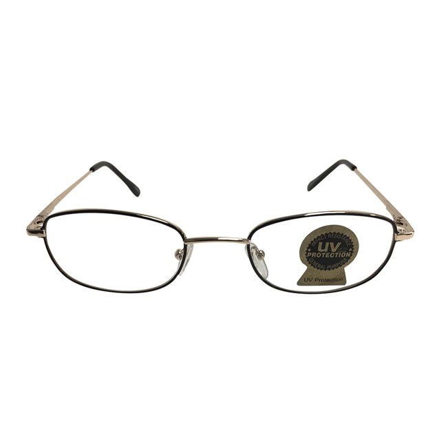 Black and Silver Ben Franklin Glasses Clear Lens Santa Claus Benjamin Mrs.