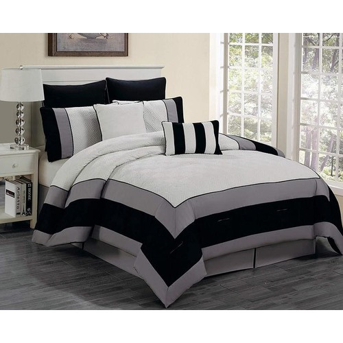 8-Piece Kensie Hotel Quality Comforter Set