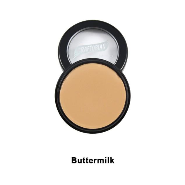 Buttermilk HD Glamour Creme Foundation 5oz. Graftobian Cruelty Free USA