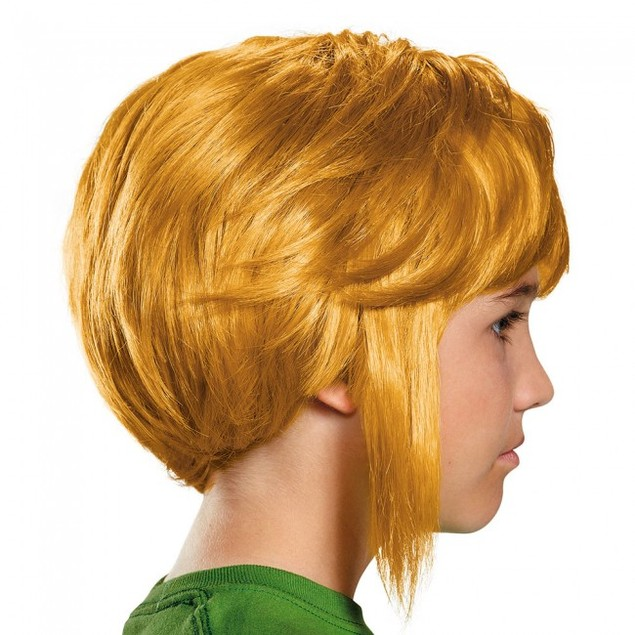 Link Zelda Child Wig The Legend of Zeld Accesory Costume Blonde Video Game