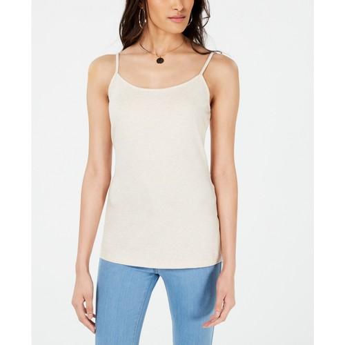 Maison Jules Women's Adjustable Camisole White Size Medium