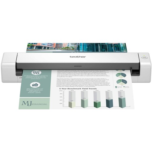 Brothers Brother DS-740D Duplex Compact Mobile Document Scanner