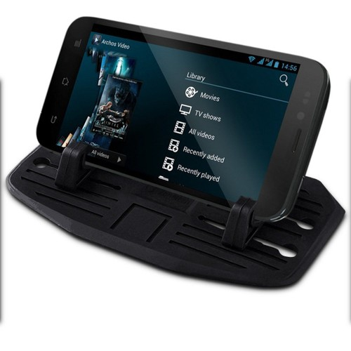 Zone Tech Car Dashboard Mount Holder Stand Silicone Pad Dash Mat Phone