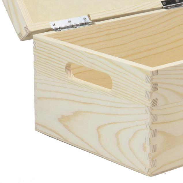 Wooden Storage Box | Pukkr