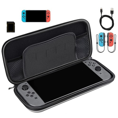 Nintendo Switch Case with Shell Pouch Hard Protective Portable Carry
