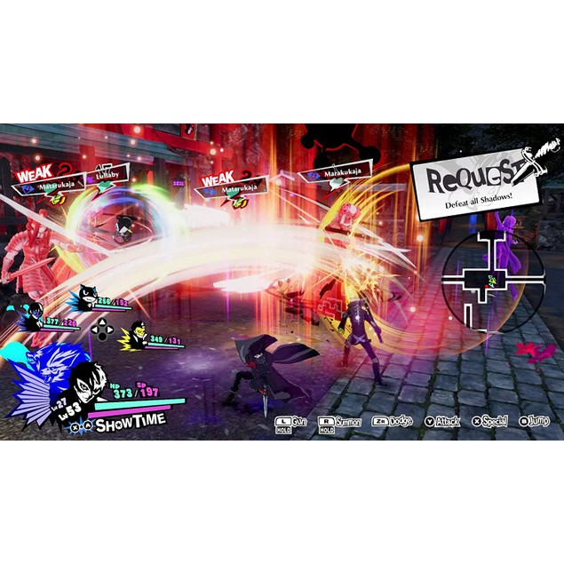 Persona 5 Strikers Nintendo Switch Game