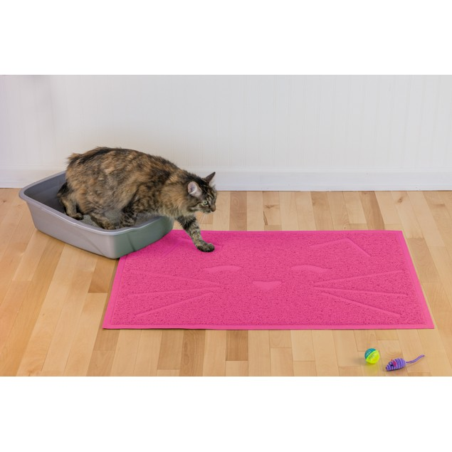 FurHaven Tiger Tough Tidy Paws Litter & Food Mat