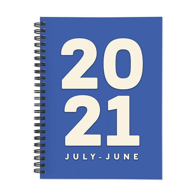 July 2020 - June 2021 Kraft Series Medium Daily Weekly Monthly Planners