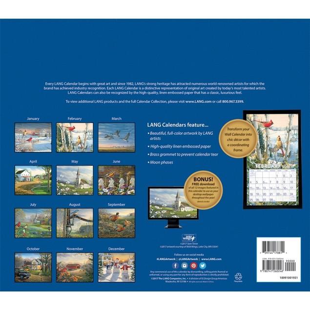 Meadowland Wall Calendar, LANG Wall Calendar by Calendars