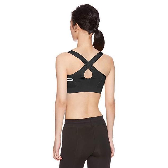 Under Armour Women's Threadborne Crossback Solid Sports Bra SZ Sm