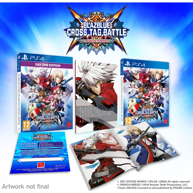 BlazBlue Cross Tag Battle Special Edition PS4 Game
