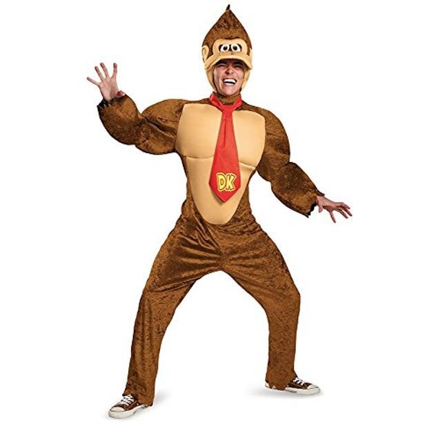 Donkey Kong Deluxe Adult Costume