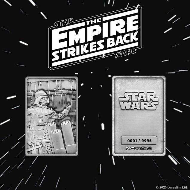 K-004 Darth Vader Bespin Scene (Star Wars) Limited Edition Metal Collectabl