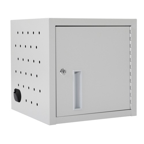 Luxor Office 8 Tablet Wall/Desk Charging Box, Stores up to 8 Mobile Devices