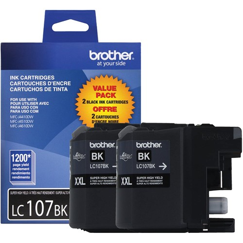 Brothers Brother Printer LC1072PKS Ink