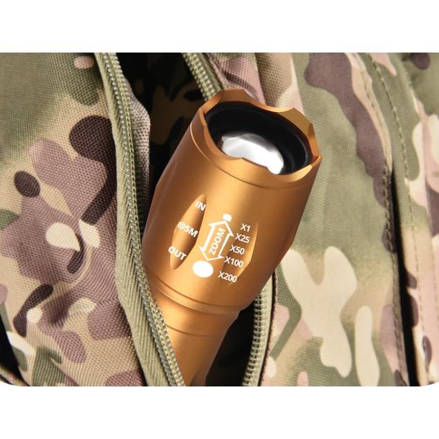Copper Tactical Flashlight