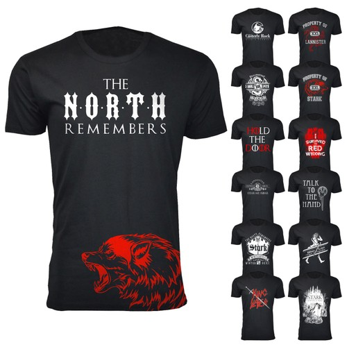 Men's Thrones and Dragon's T-Shirts