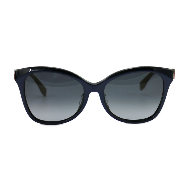 Fendi Women's Sunglasses FF0043/F/S MHH/HD Blue/Brown 56 17 140 Full Rim