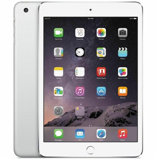 """Apple iPad Mini 3 (3rd Gen) 64GB - Wi-Fi - 7.9"""" - Silver - (MGGT2LL/A)"""