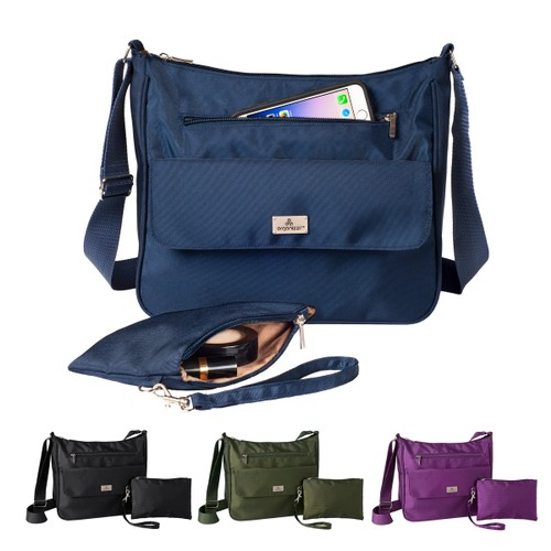 Organizzi CarryAll RFID Tote-Style Organizer Bag with Matching Wristlet