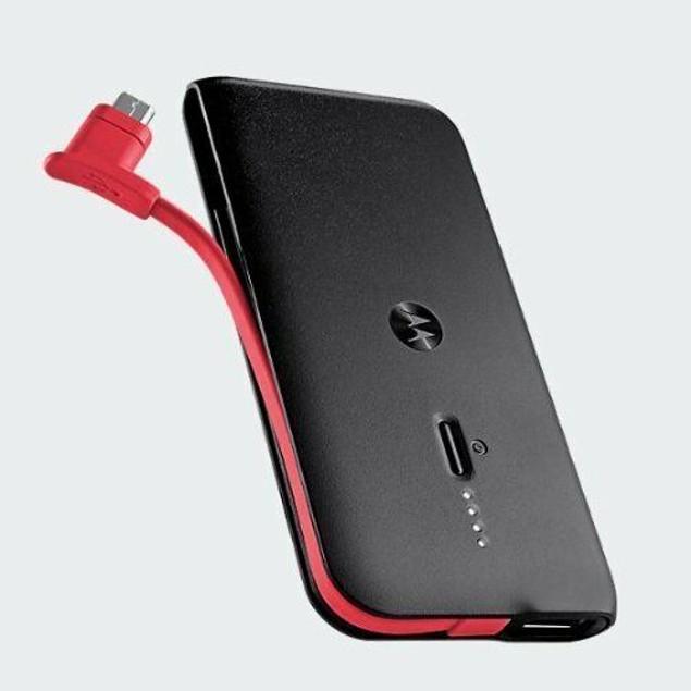 Motorola Slim 2000mAh Power Bank