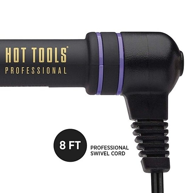 Hot Tools 24K GOLD CURLING IRON / WAND 1 inch