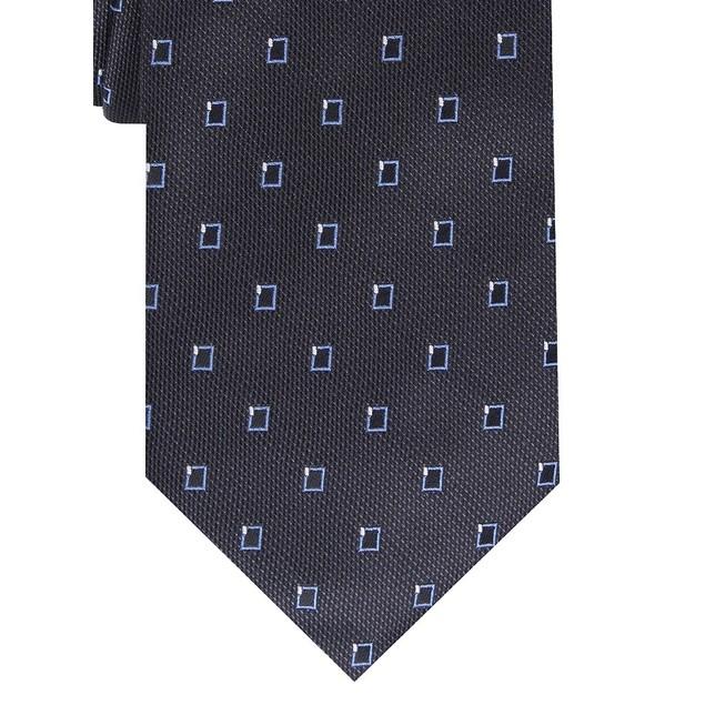Alfani Men's Slim Neat Tie Black Size Regular