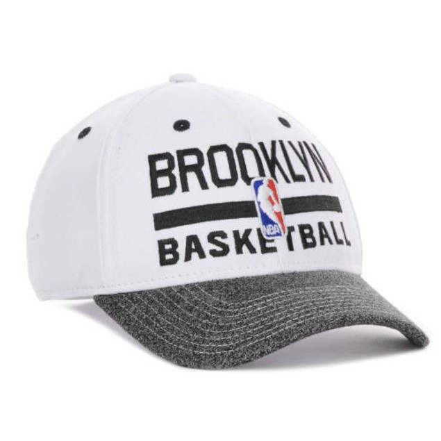"""Brooklyn Nets NBA Adidas """"Team Practice"""" Stretch Fitted Hat"""