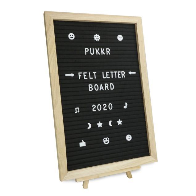 Felt Letter Board Message Sign | Pukkr 12x18In